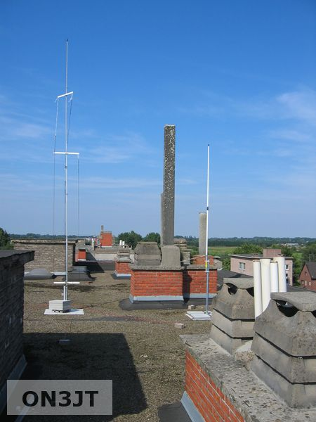 My homebrew vertical multiband hf antenna   ON3JT