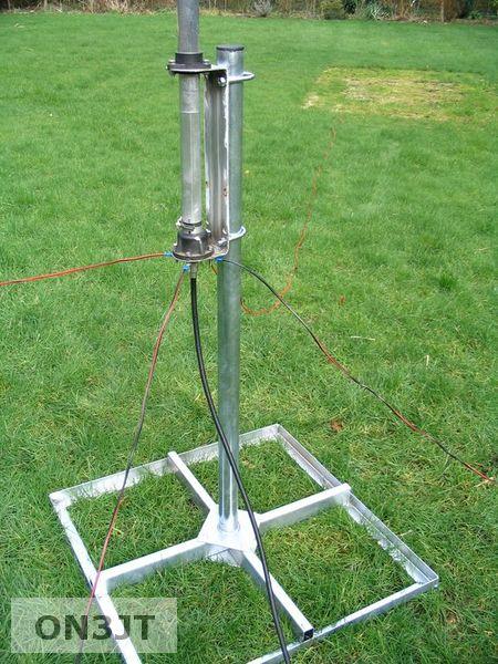 My homebrew vertical multiband hf antenna | ON3JT